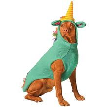 Handmade Unicorn Hooded Wool Dog Sweater