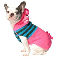 Handmade Pig Hooded Wool Dog Sweater