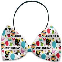 Happy Birthday Dog Bow Tie