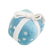 Happy Birthday Gift Dog Toy by Hip Doggie - Blue