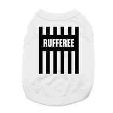 Rufferee Dog Shirt - White
