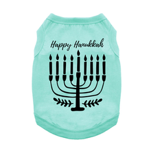Happy Hanukkah Dog Shirt
