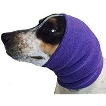 Happy Hoodie Dog Snood - Purple