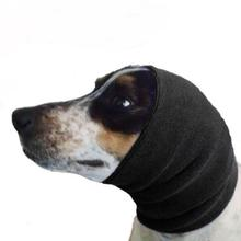 Happy Hoodie Dog Snood - Black
