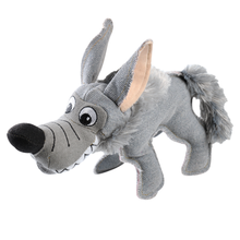 Happy Tails Critterz Canvas Dog Toy - Mini Wolf