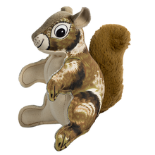 Happy Tails Critterz Canvas Dog Toy - Squirrel