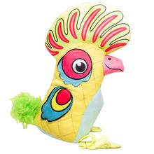 Happy Tails Doodles Bird Dog Toy - Yellow Feather Head