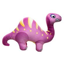 Happy Tails Doodles Dinosaur Dog Toy - Purple