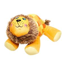 Happy Tails Doodles Dog Toy - Checkered Lion