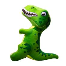 Happy Tails Doodles Dinosaur Dog Toy - Green
