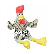 Happy Tails Doodles Dog Toy - Wacky Chicken
