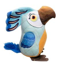 Happy Tails Doodles Bird Dog Toy - Blue
