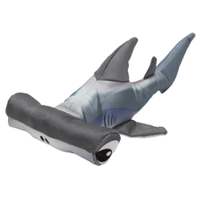 Happy Tails Loonies Durable Dog Toy - Hammerhead Shark