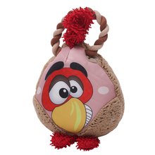 Happy Tails Loonies Durable Dog Toy - Rooster Tug