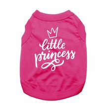 Little Princess Dog Shirt - Bright Pink