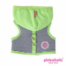 Harper Pinka Dog Harness by Pinkaholic - Green