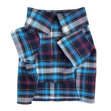Hidden Trails Plaid Dog Shirt by Dog Threads