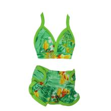 Hawaiian Dog Bikini - Green