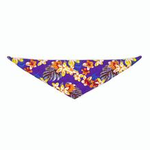 Hawaiian Dog Bandana by Push Pushi - Purple