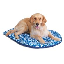 Hawaiian Travel Dog Bed by Doggles - Blue