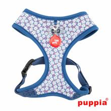 Hawthorn Adjustable Dog Harness by Puppia - Blue