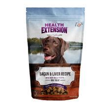 Health Extension Bully Puff Dog Treat - Bacon & Liver