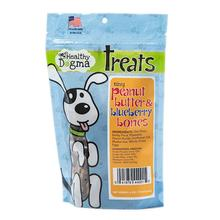 Healthy Dogma Tiny Peanut Butter and Blueberry Bones Dog Treats