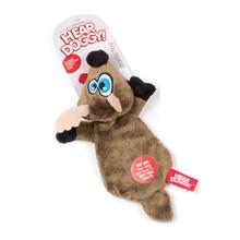 Hear Doggy Flat Dog Toy - Deer