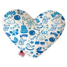 Heart Dog Toy - Baby Boy