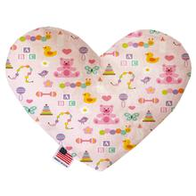 Heart Dog Toy - Baby Girl