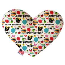 Heart Dog Toy - Happy Birthday