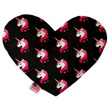 Heart Dog Toy - Pretty Pink Unicorns