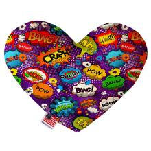 Heart Dog Toy - Purple Comic Sound Effects