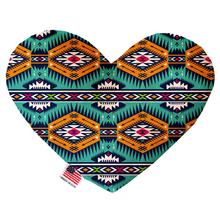 Heart Dog Toy - Turquoise Southwest