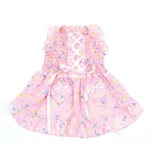 Hearts and Tarts Dog Dress by Oscar Newman - Pink