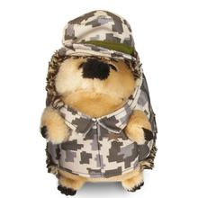 Heggie Plush Dog Toy - Army