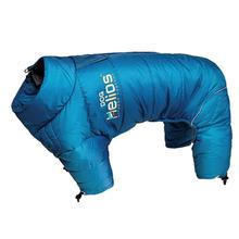 Helios Thunder Full-Body Dog Coat - Blue Wave