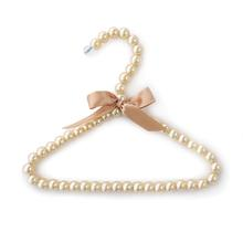 Hello Doggie Pearl Dog Fashion Hanger - Champagne