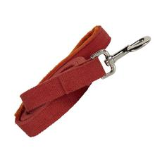 Hemp Dog Leash w/ Fleece Handle by Planet Dog - Orange