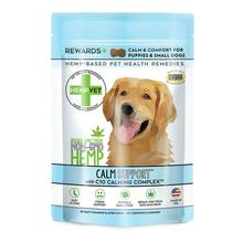 HempVet Calm Support Rewards Dog Supplement with C10 Calming Complex