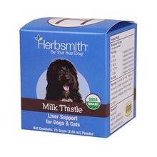 Herbsmith Milk Thistle Liver Support Pet Supplement
