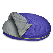 Highlands Sleeping Bag Dog Bed by RuffWear - Huckleberry Blue