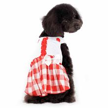 Hippie Country Plaid Dog Dress by Dogo