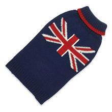 Hand Knit Dog Sweater by Up Country - Union Jack