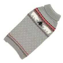 Hand Knit Dog Sweater by Up Country - Polar Bear