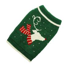 Hand Knit Dog Sweater by Up Country - Reindeer