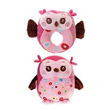Hocus and Pocus Two Furrs Dog Toy - Pink Owls