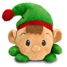 Holiday Faballs Dog Toy - Elf