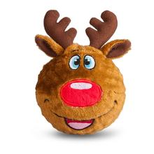 fabdog® Holiday faball® Dog Toy - Reindeer
