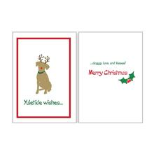 Holiday Greeting Card by Dog Speak - Doggy Love and Kisses